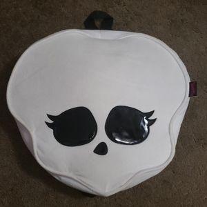 Monster High Pillow Purse w/ zipper storage back